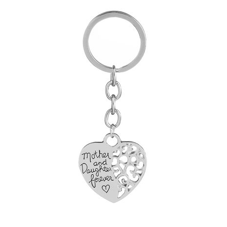 explosion keychain mother and daughter mother daughter eternal love keychain wholesale nihaojewelry NHMO220418's discount tags