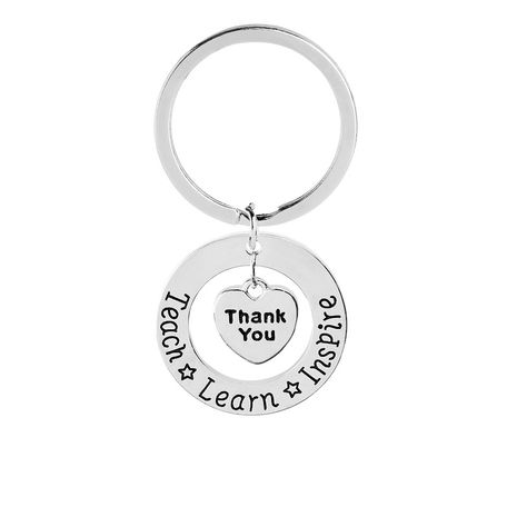 fashion explosion keychain personality lettering keychain wholesale nihaojewelry NHMO220429's discount tags