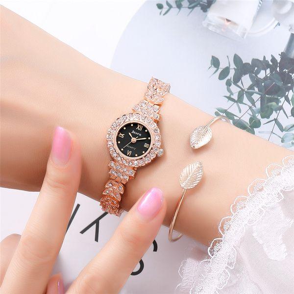 Diamond Ladies Fashion Watch Roman Scale Small Women's Quartz Steel Band Reloj de pulsera al por mayor nihaojewelry NHSS220620
