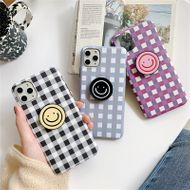 Korean style smiley face iphone11xs xr Promax mobile phone case wholesale nihaojewelry NHFI220705