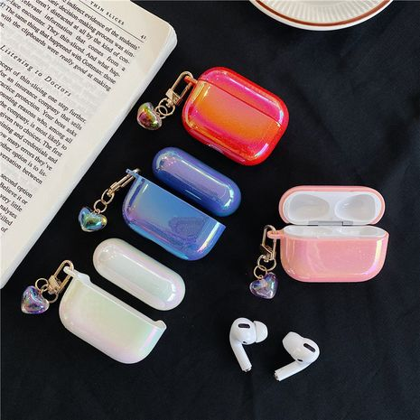Symphony of water drops love pendant protection hard shell for Apple Airpods Pro1/2 generation wireless Bluetooth headset wholesale nihaojewelry NHFI220722's discount tags