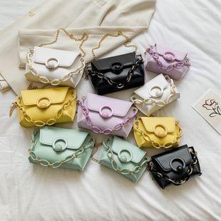 Verano nuevo bolso de cadena de moda coreana salvaje color sólido moda bloqueo hombro bolsa de mensajero al por mayor nihaojewelry NHPB220828's discount tags