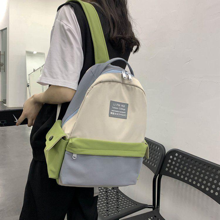 Schoolbag Korean high school Harajuku ulzzang girl backpack campus fashion wild student backpack  wholesale nihaojewelry NHHX220867