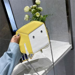 summer new cute mini square bag shoulder messenger bag candy color girl mobile phone coin purse  wholesale nihaojewelry NHGA220916's discount tags