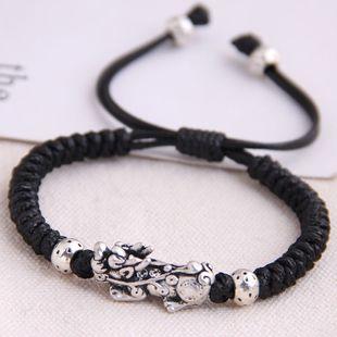 fashion retro trend concise unicorn braided temperament bracelet wholesale nihaojewelry NHSC221075's discount tags