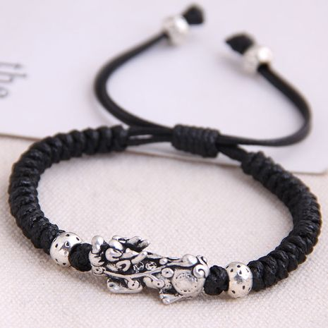fashion retro trend concise unicorn braided temperament bracelet wholesale nihaojewelry NHSC221075's discount tags