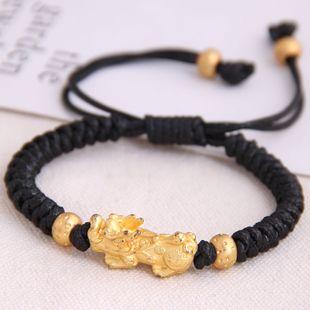 fashion retro trend concise unicorn braided temperament bracelet wholesale nihaojewelry NHSC221074's discount tags