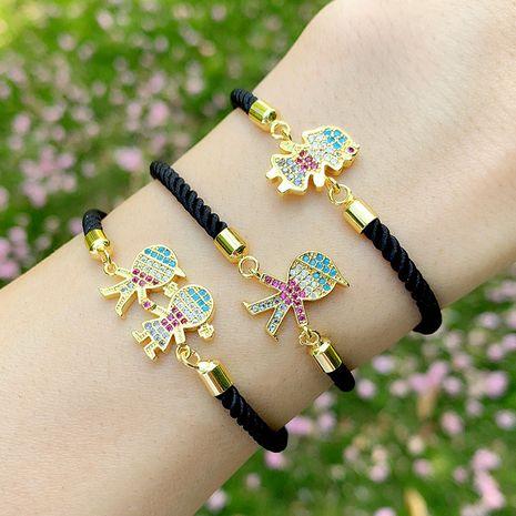 Fashion bracelet yiwu nihaojewelry wholesale Korean classic boy girl couple bracelet gift NHAS213489's discount tags