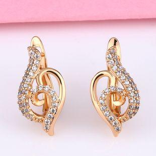 Hot earrings zircon nihaojewelry wholesale earrings Korean irregular earrings NHAS213499's discount tags