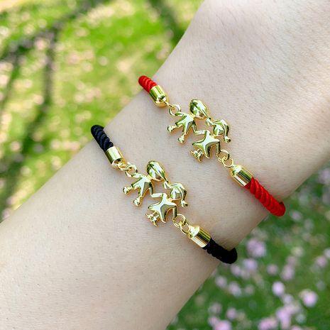Fashion bracelet yiwu nihaojewelry wholesale red rope bracelet Korean couple bracelet NHAS213516's discount tags