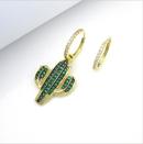 Copper Fashion  earring  Photo Color  Fine Jewelry NHLJ4262PhotoColor