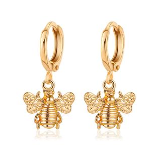 New fashion creative fashion metal bee earrings simple insect earrings NHDP213688's discount tags