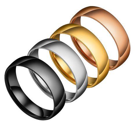 Anneau sphérique simple de 6 mm Yiwu Nihaojewelry gros anneau magique gravable en acier inoxydable anneau lisse NHHF213736's discount tags