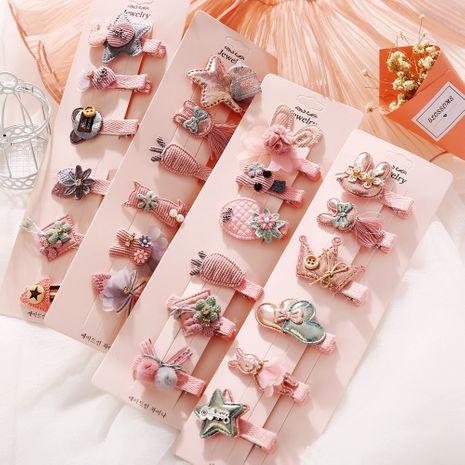 Korea's new fashion cute children's hair accessories baby headdress girls cheap hairpin wholesale NHPJ213767's discount tags