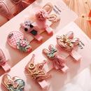 Korea39s new fashion cute children39s hair accessories baby headdress girls cheap hairpin wholesale NHPJ213767