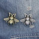 Fashion retro punk insect bee brooch clothing accessories bags accessories nihaojewelry wholesale NHMO213899