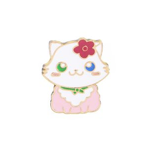 New fashion cute kitty brooch clothing accessories bags accessories nihaojewelry wholesale NHMO213907's discount tags