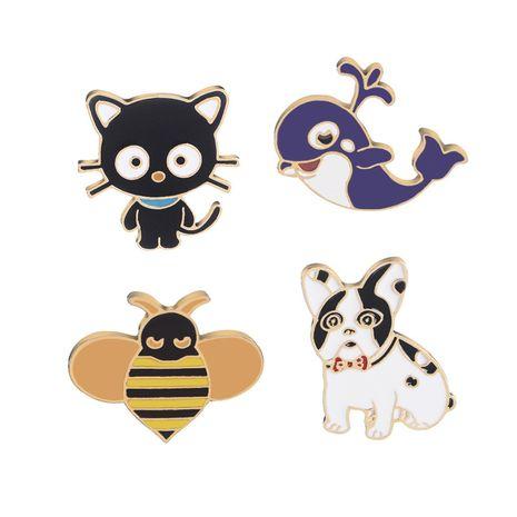 Nouvelle mode drôle drôle mignon animal broche vêtements décoration sac broche nihaojewelry gros NHMO213910's discount tags