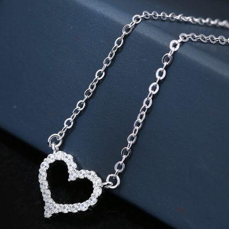 Nouveau cuivre doux amour zircon collier nihaojewelry gros NHSC214461's discount tags