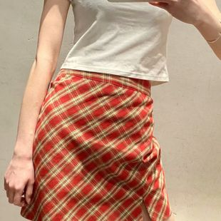 Spring British style skirt A-line skirt short skirt nihaojewelry wholesale NHAM214147's discount tags