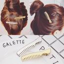New fashion alloy cute small comb hairpin cheap hairpin nihaojewelry wholesale NHOF214515