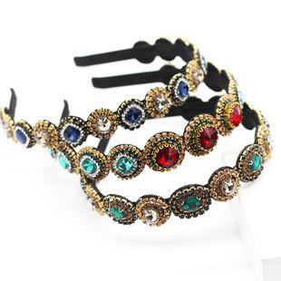 Corea Moda Ligero Simple Diamante Diamante Joyas para el cabello de las mujeres Salvaje Casual Regalo de viaje Prom Diadema nihaojewelry Al por mayor NHWJ214558's discount tags