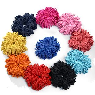 Color de moda banda para el cabello banda para el cabello coreano simple hecho a mano color sólido cabello rizos baratos conjunto al por mayor NHPF214572's discount tags