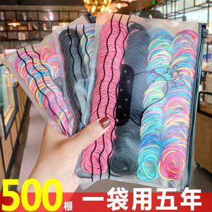 500 gomas elásticas nuevas gomas para el cabello de la moda coreana establecen al por mayor NHNA214610's discount tags