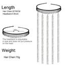 Korean fashion headband toothed headband women39s hair chain wave fashion headband hair accessories nihaojewelry wholesale NHCT214617