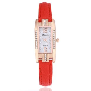 New fashion ladies watch diamond thin rectangular strap quartz watch nihaojewelry wholesale NHSY214712's discount tags