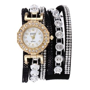 New round bracelet watch fashion bracelet watch classic winding belt watch nihaojewelry wholesale NHSY214713's discount tags