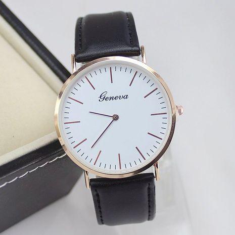 Nuevo reloj de hombre simple moda simple cáscara de oro rosa cuarzo casual reloj ultrafino al por mayor NHSY214719's discount tags