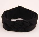 New fashion solid color children39s hair accessories braided cross hair band handmade peace knot hair band wholesale NHDM214731