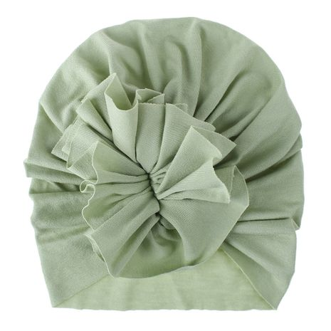 New baby hat children fold flowers baby hat knitted hat wholesale NHDM214774's discount tags