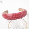 NHDM657103-B160C-sponge-headband-with-diamonds-red