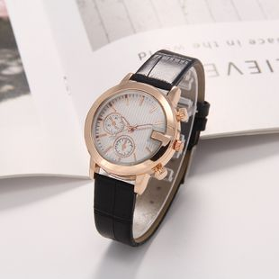 New fashion fake eyes ladies belt watch simple casual stripe scale quartz watch wholesale NHLN214897's discount tags