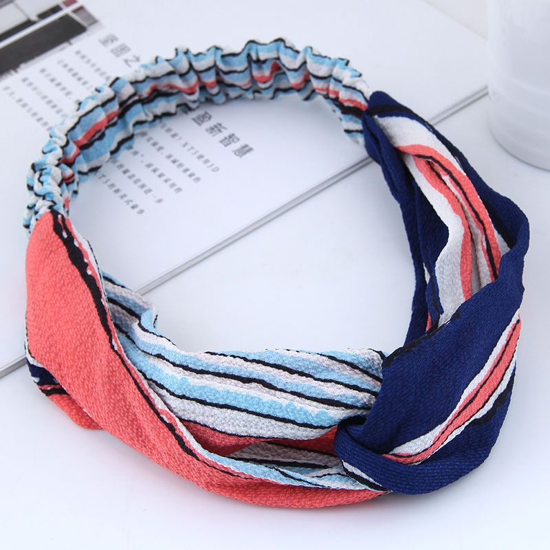 fashion  hair band nihaojewelry wholesale sweet  cross elasticated hair accessories hair band NHSC214976