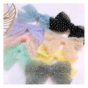 Corea retro macaron bubble princess lindo arco pinza de pelo barata nihaojewelry al por mayor NHHD214910's discount tags