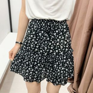 Wholesale nihaojewelry women's colthes Summer Floral Floral Skirt  NHAM214915's discount tags