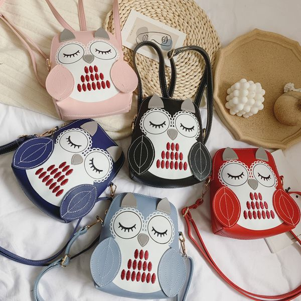 Korean backpack new fashion children cute owl backpack summer child bags nihaojewelry wholesale NHPB214942