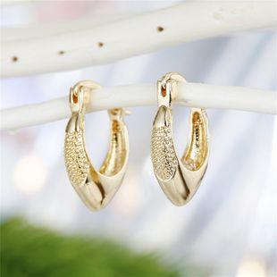 fashion simple  trend earrings retro simple temperament geometric diamond carved small earrings nihaojewelry wholesale NHGO220990's discount tags
