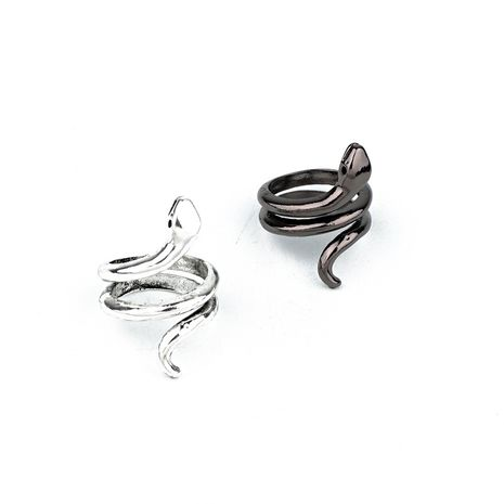 retro jewelry punk personality smooth snake ring animal open ring fast selling wholesale nihaojewelry NHGO221002's discount tags