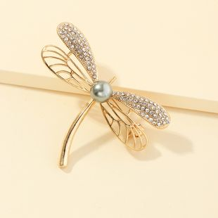 fashion jewelry handmade oil drop animal pin brooch diamond owl brooch wholesale nihaojewelry NHNZ221183's discount tags