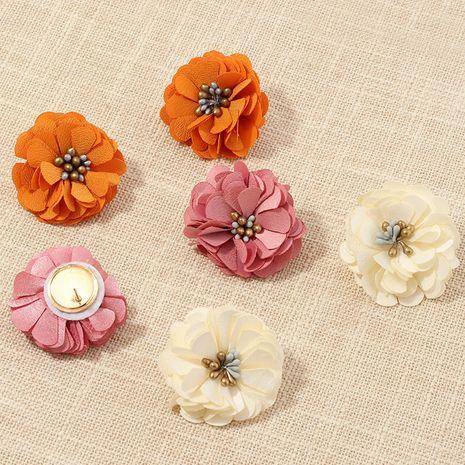 fashion jewelry temperament fabric petal earrings celebrity style wild flower earrings wholesale nihaojewelry NHNZ221186's discount tags