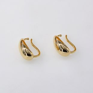 Special-shaped metal ear clips without piercings personality exaggerated retro ear bone clip auricle cold wind earrings wholesale nihaojewelry NHNT221266's discount tags