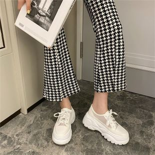 Velcro small white shoes women spring new versatile thick bottom casual shoes women's shoes student wholesale nihaojewelry NHCA223976's discount tags