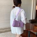 new big bag womens bag new wave Korean fashion oneshoulder armpit bag simple casual handbag wholesale nihaojewelry NHJZ224139