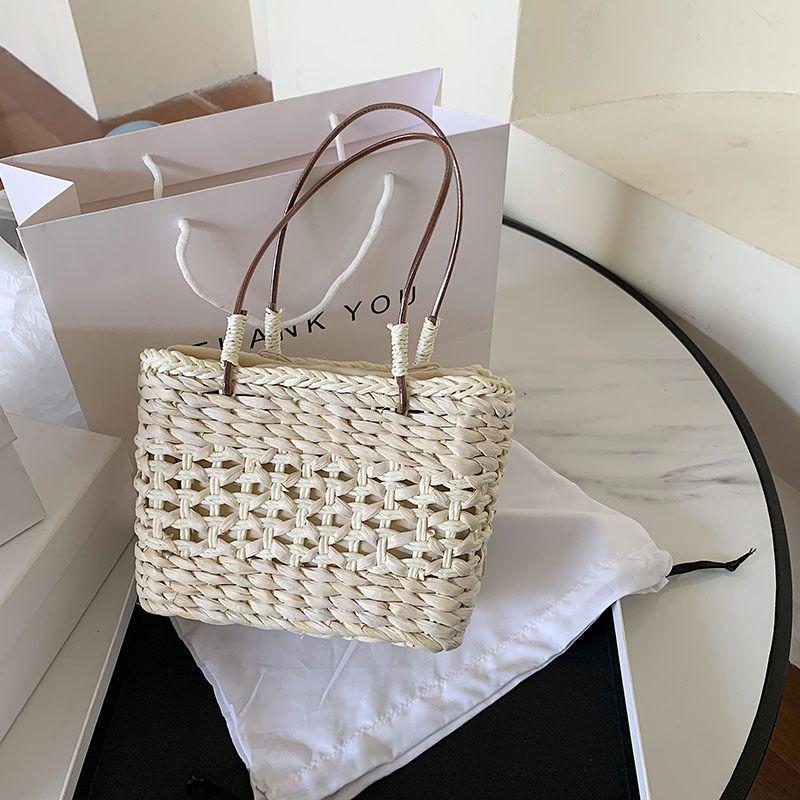 summer straw bag popular new wave Korean wild fashion handbag fairy bag wholesale nihaojewelry NHJZ224149