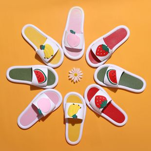 Wear strawberry girl sandals slippers summer home indoor fruit bathroom non-slip slippers NHATX224241's discount tags