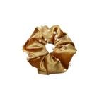 Korean temperament gold velvet cloth headwear nail pearl hair ring large intestine ring hair rope head flower hair accessories wholesale nihaojewelry NHDM224569